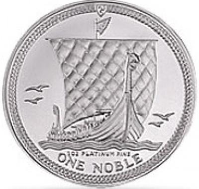 Platin Noble Isle of Man 1 Unze