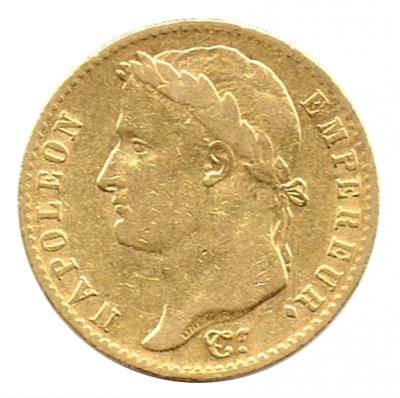 20 Francs Napoleon I.
