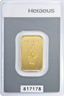 Goldbarren 10 Gramm kinebar™