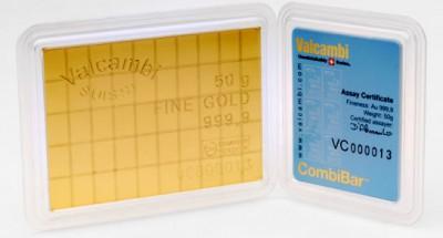 CombiBarren 100 x 1 Gramm Feingold