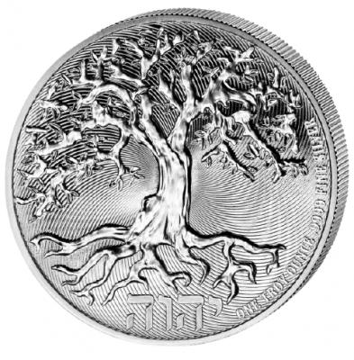2 Dollar Tree of Life 1 Unze Ag