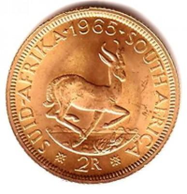 Goldmünze 2 Rand