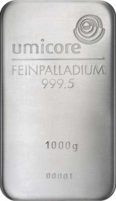 Palladiumbarren 1000 g