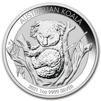 Koala 1 Unze Ag 2021