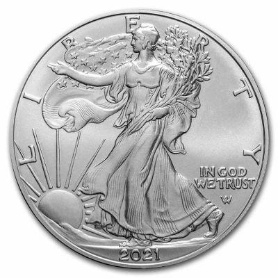 American Eagle 1 Unze Typ 2 Ag 2021