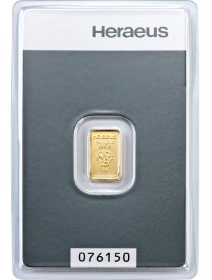 Goldbarren 1 Gramm Feingold